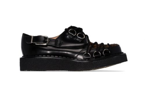 COMME des GARÇONS Taps George Cox for Latest Pair of Leopard Bondage Creepers