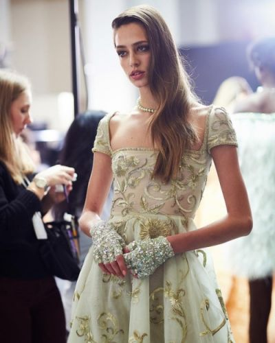 Georges Hobeika Couture SS 19 backstage georgeshobeika