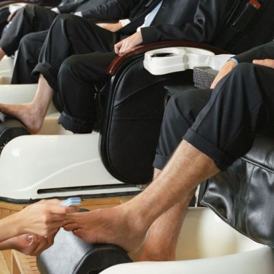 The Benefits of Offering Male Clients Mani-Pedis
