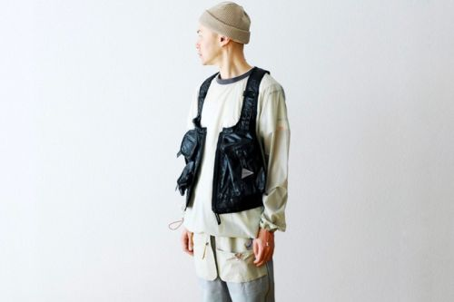 And wander Crafts Tech-Heavy Utility Pocket Vest