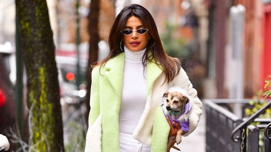 Priyanka Chopra Is Still In Bridal Mode As She Rocks A Stunning Bright White Outfit In NYC
