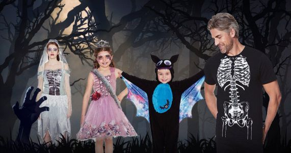 Tesco's spooky Halloween costume range will kit out your entire family
