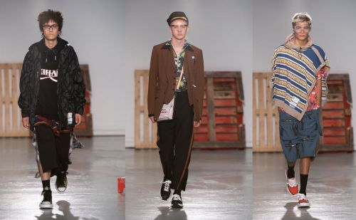 In pictures: Maison Mihara Yasuhiro explores underground culture at PFWM
