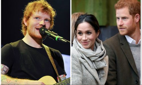 Ed Sheeran Asked to Perform at Prince Harry and Meghan Markle's Royal Wedding