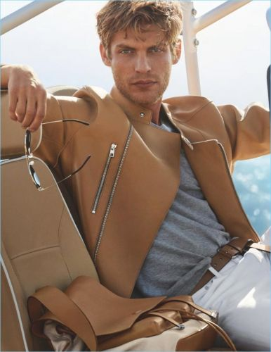 Baptiste Radufe Goes on Vacation for Michael Kors Spring '18 Campaign