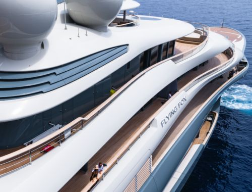 Inside Flying Fox, the Largest Private Charter Superyacht in the World