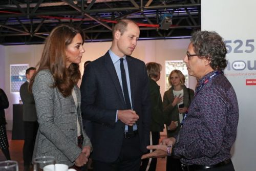 Kate Middleton & Prince William Shared A Rare Moment of PDA-We'd Like More, Please