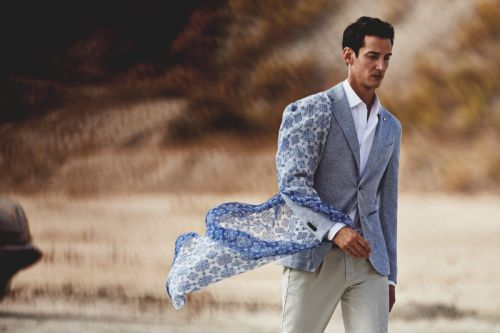 Andrey Smidl Brings Elegant Style to the Desert for L.B.M. 1911 Spring '19 Campaign