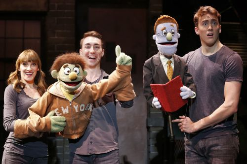 Blockbuster shows are finding new life off-Broadway