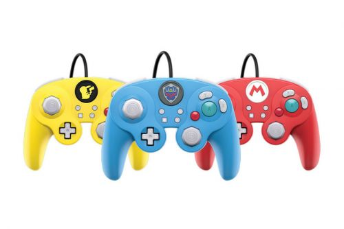 Gamecube-Inspired Controllers Are Heading to Nintendo's Switch