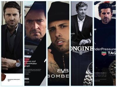 Take 5 Ads: Gerard Butler, Hugh Jackman + More Celebs Turn Model