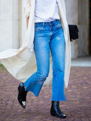7 Outfits That Make Basic Ankle Boots Look Chic