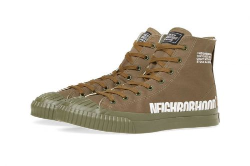 NEIGHBORHOOD Continues Tweaking Military Trainers for SS19