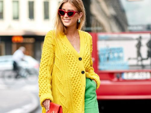 All the Bright Yellow Cardigans We Can't Get Enough Of