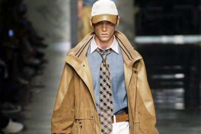 Suit Up With Fendi's Spring/Summer 2018 Collection