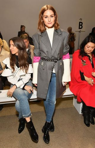 Olivia Palermo Has a New Favorite Styling Trick This NYFW
