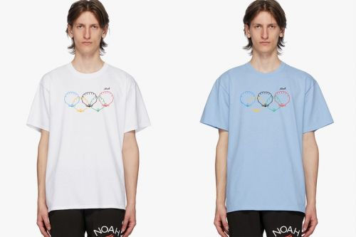 "NOAH Releases Olympic-Themed ""Scallops"" T-Shirts"