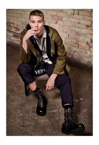 The New Utility: Matthew Noszka Dons Military-Inspired Style for Holt Renfrew