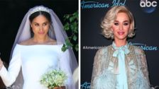 Katy Perry Has One Little Problem With Meghan Markle's Wedding Gown