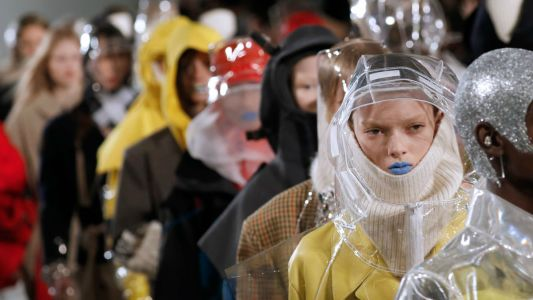 Designers Are Prepared for the Apocalypse, According to All the Hazmat Gear on the Runways