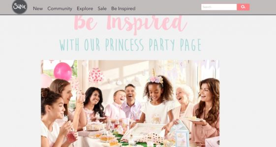 BMA Family Has A Princess Party With Sizzix!!