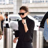 Victoria Beckham's In-Flight Beauty Routine Is Easier Than You Would Expect