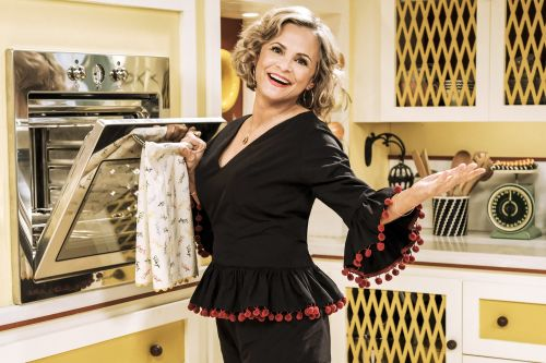 Amy Sedaris had an awkward dinner-party disaster involving a toilet