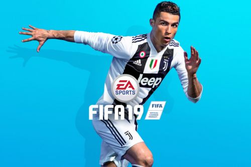 Cristiano Ronaldo & His Juventus Kit Are the Cover Stars of 'FIFA 19'