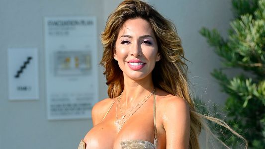 Farrah Abraham Goes Nearly Nude in a Tiny, Gold Bikini - See Photos!