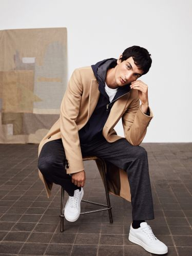 Luca, Roch & Shawn Don the New Casual for BOSS