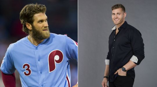 Pro Baseball Player Bryce Harper Is *Not* a 'Bachelorette' Contestant But Here's Why Fans Think He Is