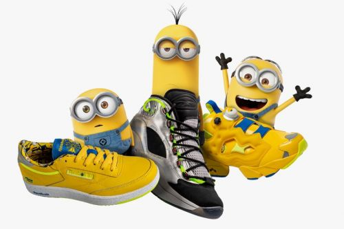 The Minions Celebrate 'Rise of Gru' With Extensive Reebok Footwear and Apparel Collection