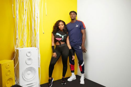 Normani and Jacob Banks Style Out the PUMA RS-0 Sound