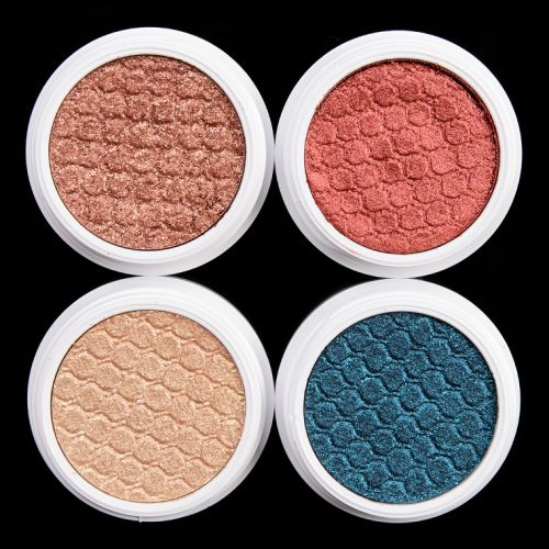 ColourPop Journey Super Shock Shadow Quad Review & Swatches