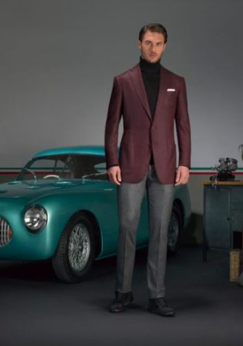 Brooding Burgundy Men's Style for the Fall