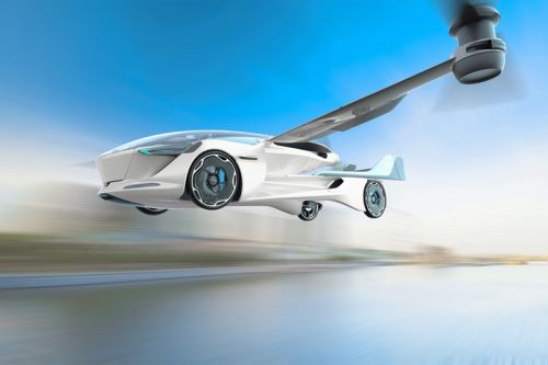 AeroMobil Reveals Flying Electric Car Concept