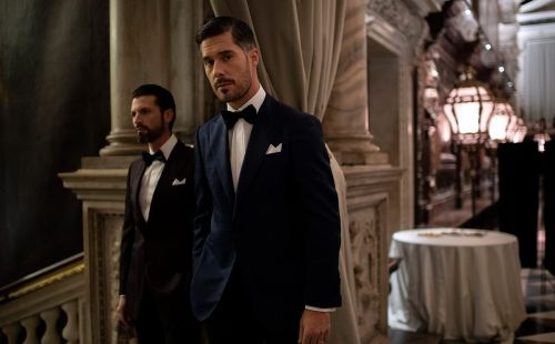 Stefano Ricci's AW20/21 tuxedos presented in midst of Venice floods