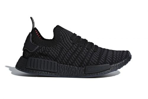 "Adidas Will Debut the NMD R1 Primeknit STLT In ""Triple Black"""