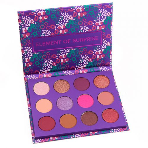ColourPop Element of Surprise Pressed Shadow Palette Review, Photos, Swatches