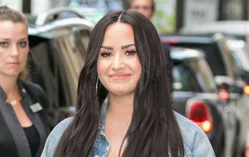 Demi Lovato Appears Happy And Healthy In The First Picture Following Her Near-Fatal Overdose