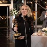 Catherine O'Hara Channeled Moira Rose While Thanking Her Beauty Team at the Emmys