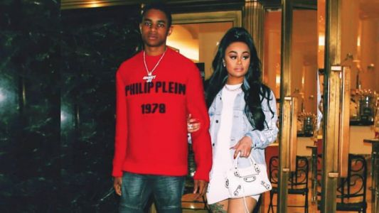 Blac Chyna's 18-Year-Old Boy Toy Caught Cheating After Proposing to Her on Instagram