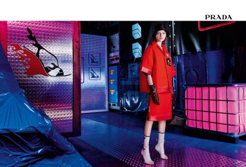 Prada Head To The Warehouse For Their New Pre Fall 2018 Campaign
