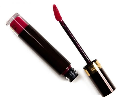 Tom Ford Red Corset & Stolen Cherry Lip Lacquer Liquid Patent Review, Photos, Swatches