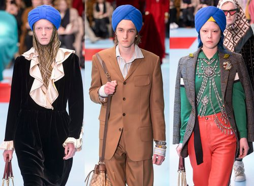 Forget Severed Heads, Let's Talk About the Turbans at Gucci, Shall We?