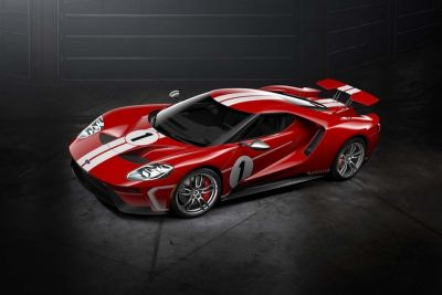 Ford Pays Respect to the GT40 Race Car With the GT '67 Heritage Edition