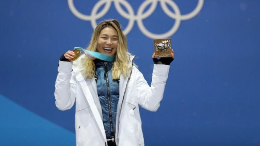 "Chloe Kim Was Listening to ""MotorSport"" During Her Gold Medal Run"