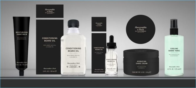 Shop Abercrombie & Fitch Grooming Collection Launch