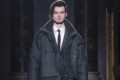 Les Hommes Fall/Winter 2018 Is Defined by Black Leather Details