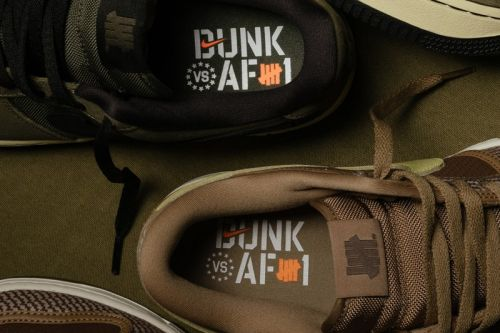 """UNDEFEATED and Nike Announce Official Release Info for the """"Dunk Vs. AF-1"""" Pack"""